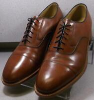 150436 MS50 Men/'s Shoes Size 10 M Dark Tan Leather Lace Up Johnston /& Murphy