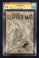 Amazing Spider-Man #1 Alex Ross Sketch Variant 1:300 CGC 9.8 Signed by Stan Lee!