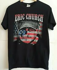 Eric Church Small Blood Sweat & Beers 2012 Tour Concert Black T-Shirt