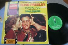 ELVIS PRESLEY OST ITALY LP LOVING YOU KING CREOLE RE RCA CINEMATRE 1980