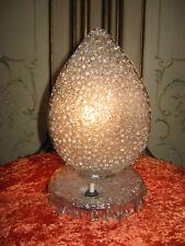 LAMPE ANCIENNE EN FORME DE FEUILLE EN VERRE ITALIEN DES ANNÉES 1950--N°MA8