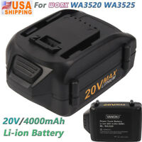 4.0Ah 20V Li-ion Battery For WORX 20volt WA3520 WA3525 WG151s WG155 WG251s WG163