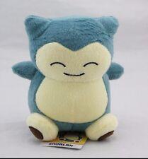 New 15cm Pokemon Soft flush Toy Snorlax stuffed Animal Christmas Birthday Gift