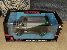 1:24 Diecast The A-Team 1983 Gmc Vandura Van Green Machine Chase Greenie New