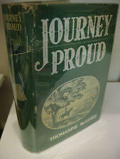 JOURNEY PROUD Thomasine McGehee 1st Edition/1st Printing 1939 Signed VG/Good-