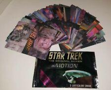 Star Trek The Original Series In Motion Trading Card Base Set (Rittenhouse 1999)