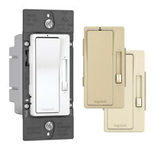Legrand  Radiant  Multicolored  Slide  Dimmer Switch  1 pk