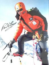 RANULPH FIENNES AUTHENTIC SIGNED 16X12 PHOTO AFTAL#198