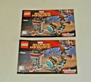 LEGO Super Heroes: Instructions Manual - Set 76020 Knowhere Escape Mission