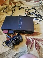 Used PS2 console with 2 memory cards