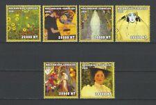 Mozambique 2001 Sc#1479a-f  Paintings by Gustav Klimt  MNH Set $19.00