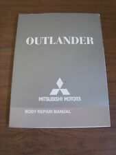 2007 Mitsubishi Outlander Body Repair Manual MSSP-407B-2007 Free Shipping