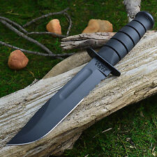 Ka-Bar Black Full Size Part Serrated 1095 Fighting Utility Knife 1214