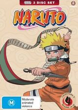 Naruto (Uncut) Collection 04 (Eps 39-52) (Slimpack) NEW R4 DVD