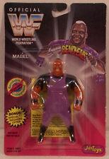 WWF WWE JusToys Bend-Ems Series 2 Mabel AKA Viscera  (MOC) Bendies Just Toys
