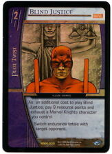 VS System • FOIL Blind Justice MMK-030 MArvel's Knight ENGLISH CARD NM