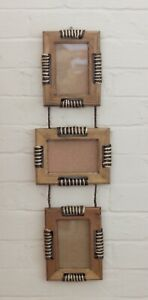 3 Picture Frames on a Rope ideal Bathroom setting