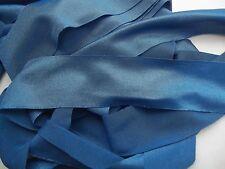 Nylon Lycra Spandex BINDING 1-1/2 Aquamarine BLUE 5 yds. Tape Straight Cut