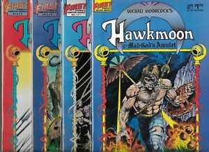 MICHAEL MOORCOCK'S HAWKMOON THE MAD GOD'S AMULET #1-#4 SET (VF/NM)