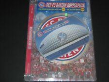 DVD + CD: FC Bayern Doppelpack, Allianz-Arena + Bayern-Hits, NEU, OVP