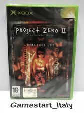 PROJECT ZERO II 2 CRIMSON BUTTERFLY DIRECTOR'S CUT (XBOX) NUOVO SIGILLATO PAL