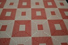 Japanese Woollen Fabric Pinky/Red check print 1417