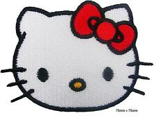 Hello Kitty Iron On  Embroidered Hat Jacket Hoodie Backpack Patch No-86