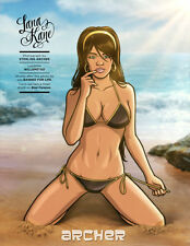Lana Kane FX and Sports Illustrated Feature 'The Girls of Archer' Silk Poster