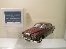 CONQUEST MODELS No.102 DAIMLER SOVEREIGN 1967 CLARET HAND-BUILT SCALE1:43