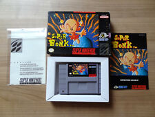 Super Bonk SNES with box and manual in 'very good condition'