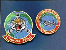 VMM-262 (REIN) FLYING TIGERS USMC MARINE CORPS V-22 OSPREY Squadron Patch Set