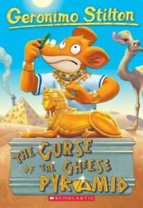 Geronimo Stilton #2: The Curse of the Cheese Pyramid - Paperback - GOOD