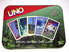 UNO CARD GAME The National Parks SPECIAL EDITION Collectors Tin 2002 SABABA TOYS
