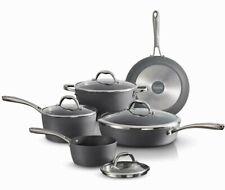 Tramontina Gourmet 9-Piece Slate Gray Induction Aluminum Cookware Set Kitchen