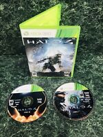 Halo 4: Microsoft Xbox 360 (2012, Microsoft Studios) 2 Disc Tested Shooter Game