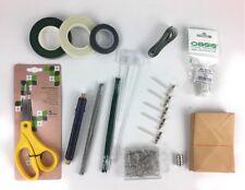Florist Starter Kit - Oasis Scissors, wire, tape, corsage magnets & badges +more