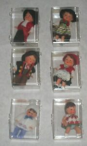VTG German Democratic Republic Mini Doll House Dolls Boy Girl Baby Rubber ARI NR
