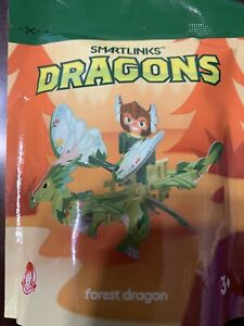 Wendy's Kids Meal 2020 Smartlinks FOREST DRAGON  New Sealed Collect All 6