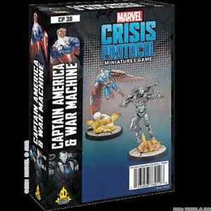 Marvel Crisis Protocol Captain America & War Machine PREORDER
