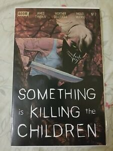 SOMETHING IS KILLING THE CHILDREN #7 2ND PRINT  James Tynion IV BOOM!