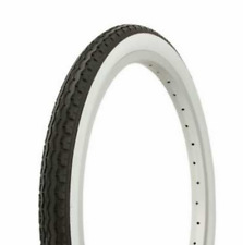 """Dragster Lowrider Bicycle Tire Duro 20"""" x 1.75"""" Black/White Side Wall HF-160A."""