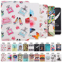 PU Leather Flip Stand Folio Case Back Cover For Apple iPad Air Mini Pro Series