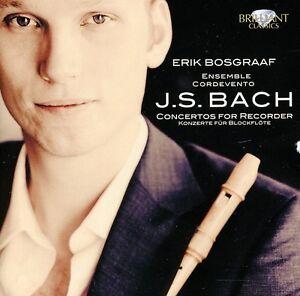 Erik Bosgraaf - Bach: Concertos for Recorder [New CD] UK - Import