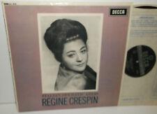 SXL 6075 Regine Crespin Italian Operatic Arias Signed ED2 WBG
