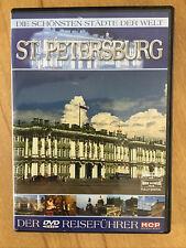 Wneu DVD Reiseführer St. Petersburg - Die schönsten Städte der Welt
