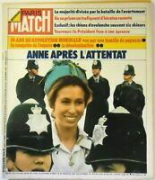 Paris Match N° 1300 - 6 avril 1974 - Anne d'Angleterre après attentat
