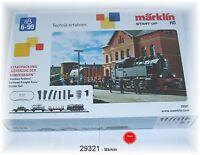 "Märklin 29321 Startpackung ""Güterzug der Bundesbahn"" mit BR 81  #NEU in OVP#"
