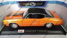 MAISTO 1:18 Scale - 1971 Chevrolet Chevelle SS 454 Sport Coupe  - Diecast Model