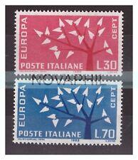 ITALIA 1962 -   EUROPA CEPT   SERIE NUOVA **