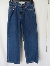 Levis Ladies 550 Relaxed Fit Jeans 26 x 26.5  Blue Size 12 Regular  #5158